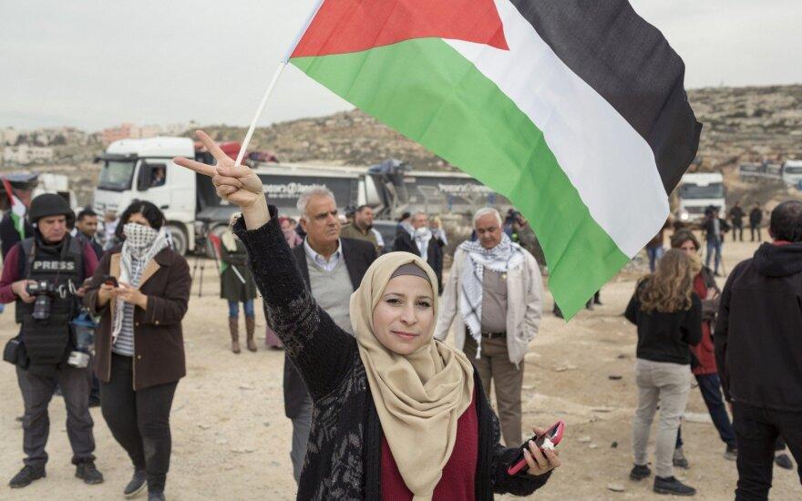 Палестинцы надеются открыть представительство в Вильнюсе в течение двух лет