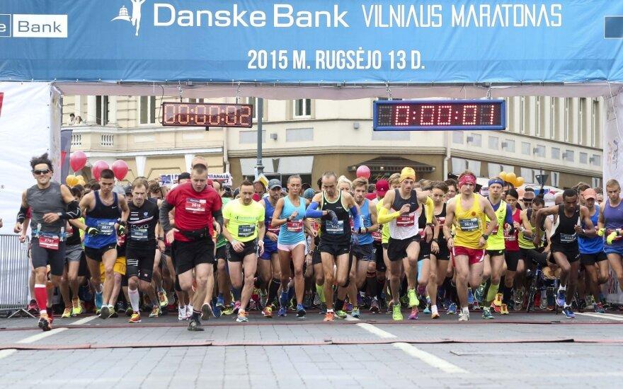 Улицы Вильнюса заполонили бегуны