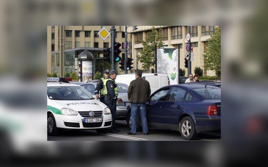 """В столице на """"перекрестке Рупулявичюса"""" пострадала женщина"""