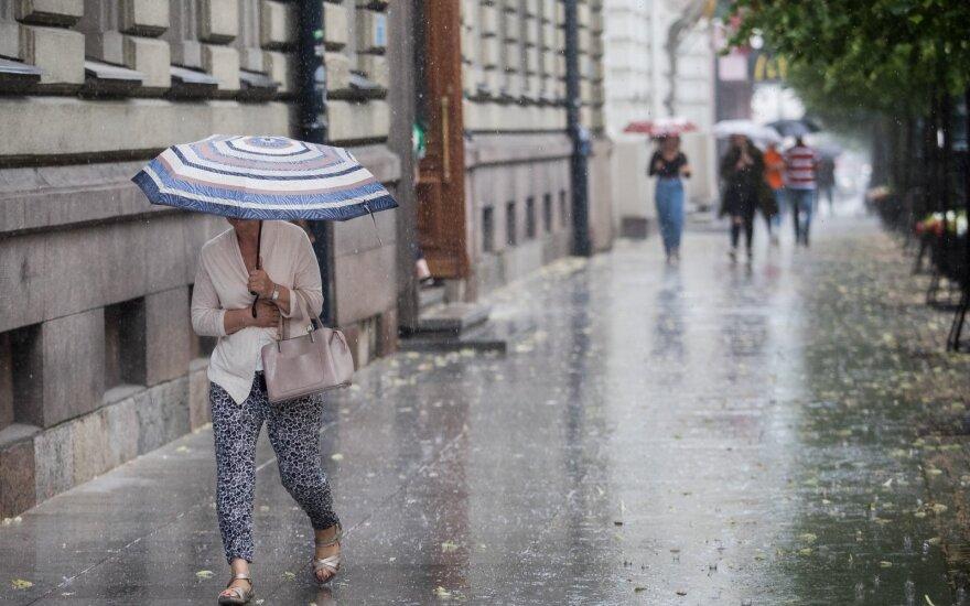 Погода: всю неделю в Литве тепла не будет