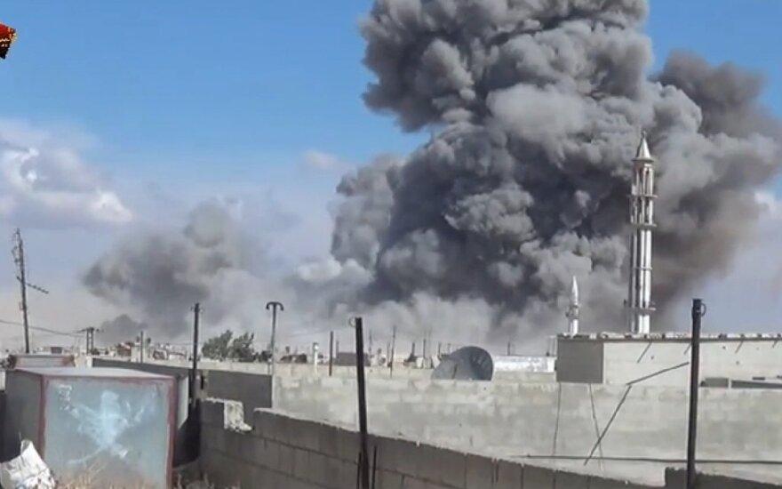 Россия нанесла первые авиаудары в Сирии