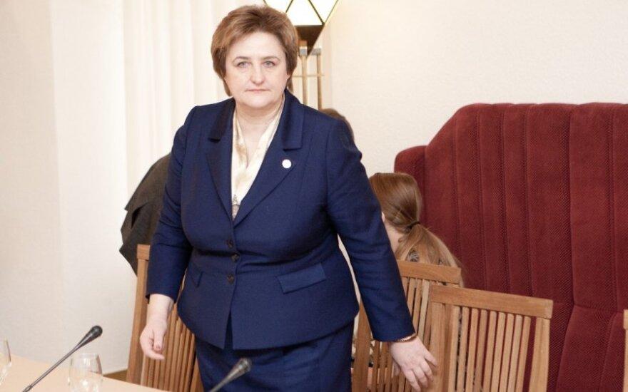 Граужинене начала заседание парламента с обращения президента Литвы