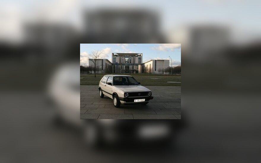 Volkswagen Golf Ангелы Меркель выставлен на продажу