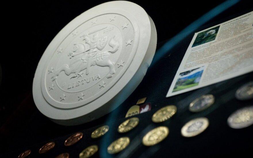 Уже можно ознакомиться с литовскими евромонетами