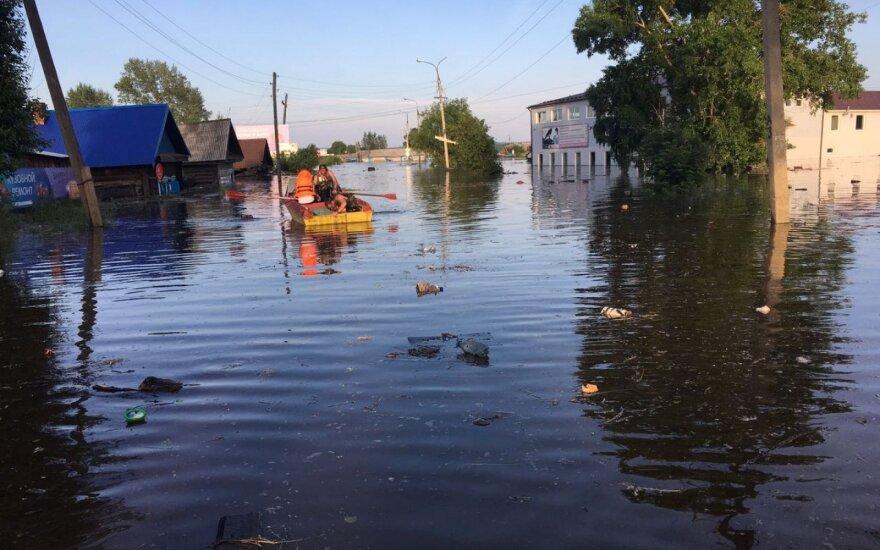 Potvynis Rusijoje