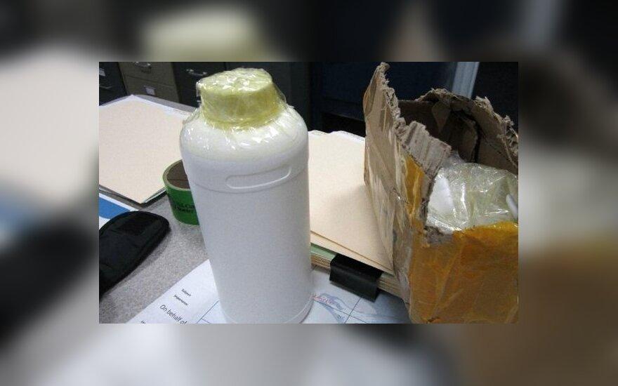 В Гонконг везут наркотик из Литвы