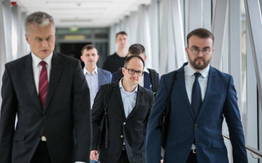 Gitanas Nausėda, Aistis Zabarauskas, Povilas Mačiulis