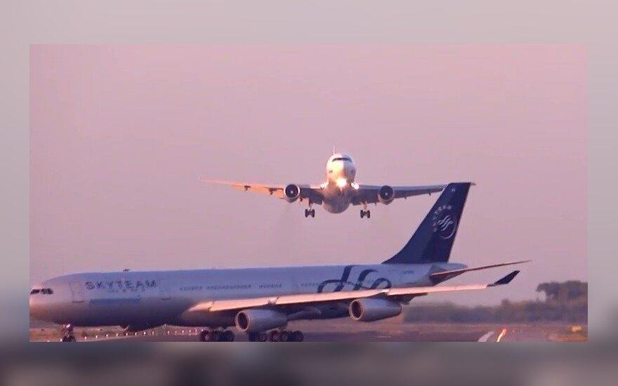 Samoloty o włos od tragedii