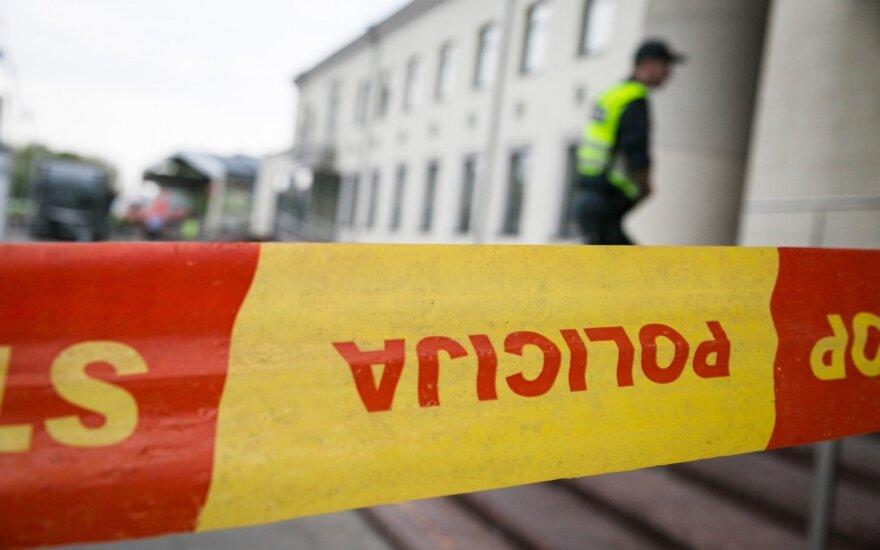 В Мариямполе обнаружена стеклянная банка с гранатой и патронами в ней