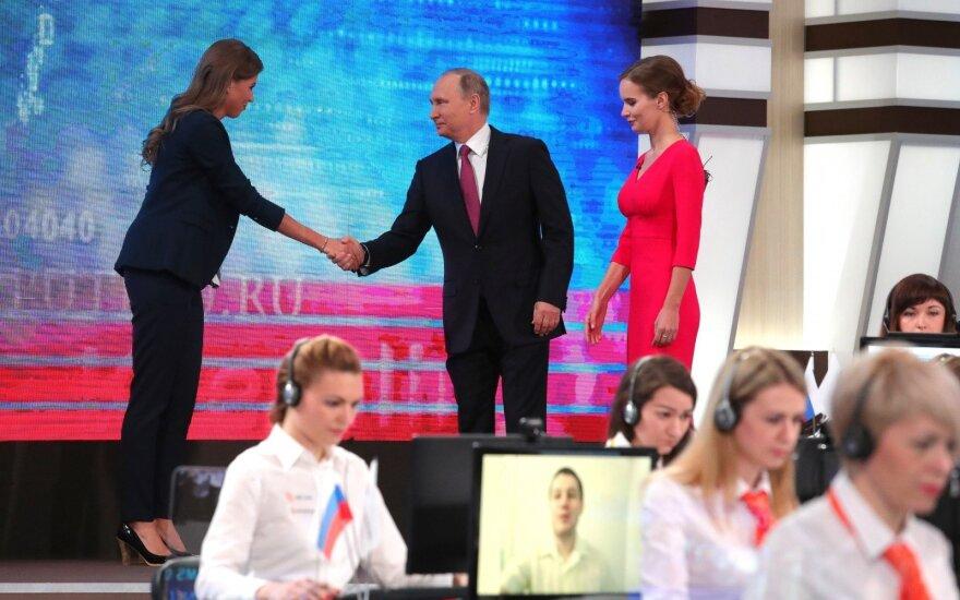 """У россиян снизился интерес к """"Прямой линии"""" с Владимиром Путиным"""