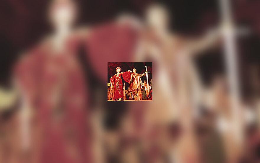 Cпектакль «Ромео и Джульетта» в постановке В.Елизарьева