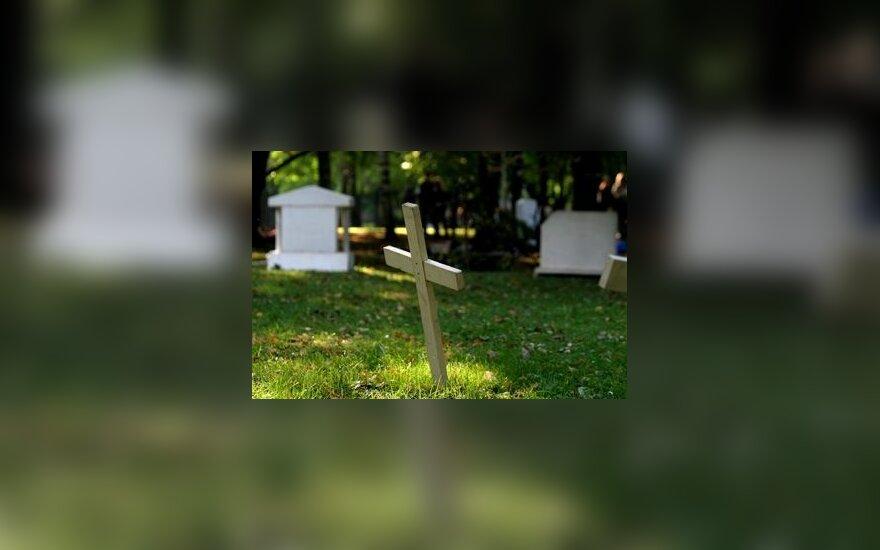 Kryžius, kapinės, mirtis, netektis
