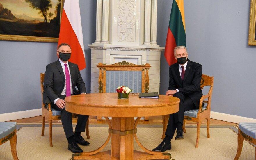 Науседа призвал главу Польши искать пути диалога с обществом по вопросам прав человека