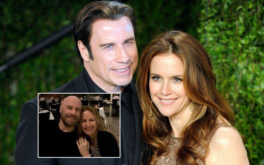 Johnas Travolta ir Kelly Preston / Foto: Vida Press, Instagram
