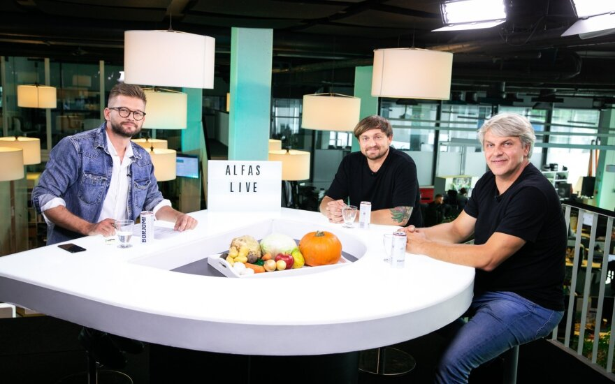 Alfas Ivanauskas, Martynas Praškevičius, Rimvydas Laužikas