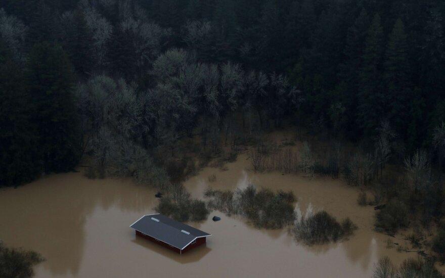 Ученые: Лондон, Нью-Йорк и Шанхай под угрозой затопления к 2100 году