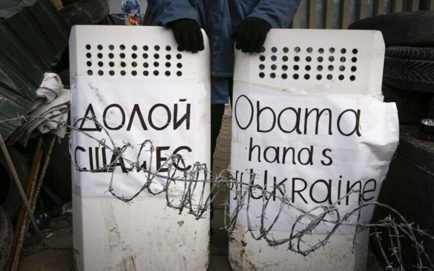 Ukrainos Rytuose tęsiasi neramumai