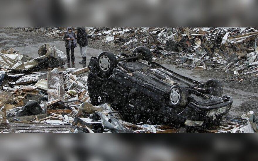 Жители Литвы пожертвовали пострадавшим от землетрясения в Японии больше 867 000 литов