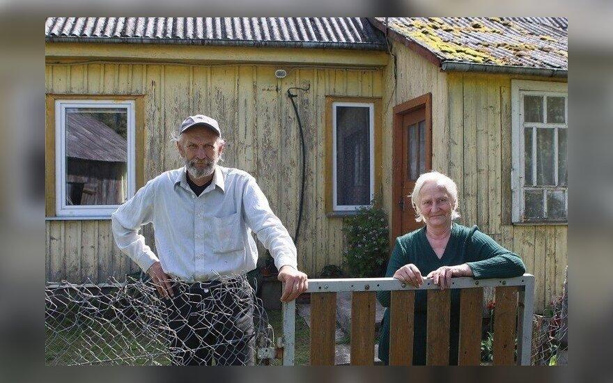 У жительницы удаленного хутора пенсия 157 евро, но это не мешает ей быть счастливой