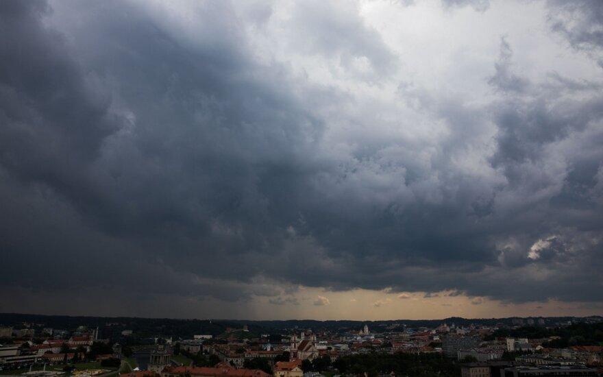 Погода: часть Литвы охватит шквал