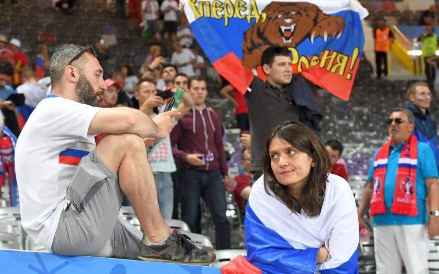 """Для следующих через Литву в РФ футбольных болельщиков """"послаблений не будет"""""""