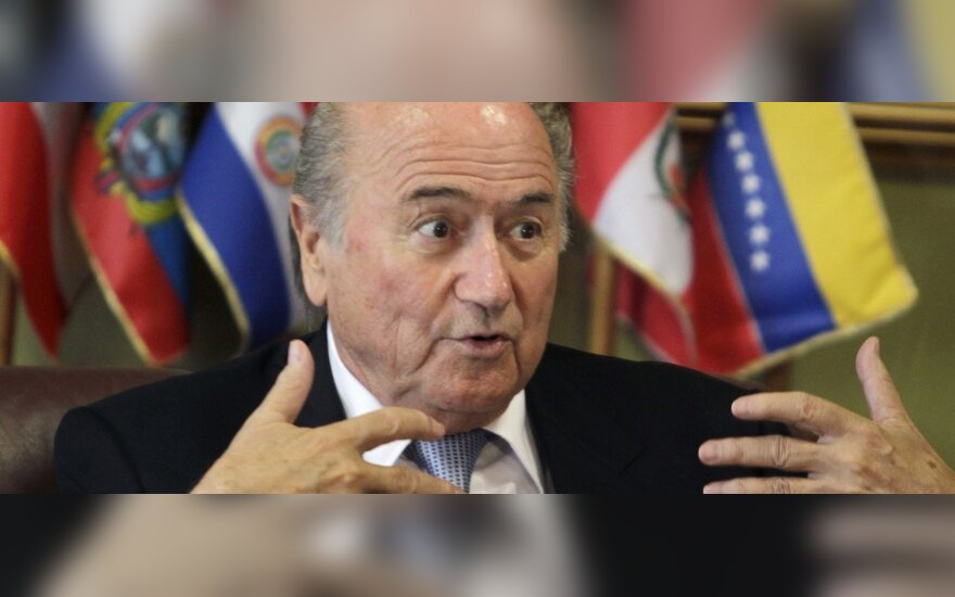 FIFA prezidentas Josephas Blatteris