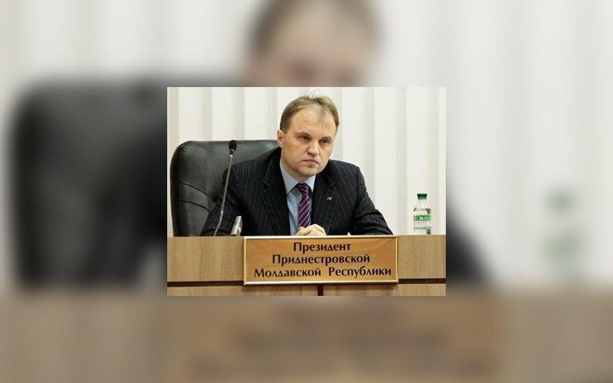Глава Приднестровья предложил подчиниться законам России