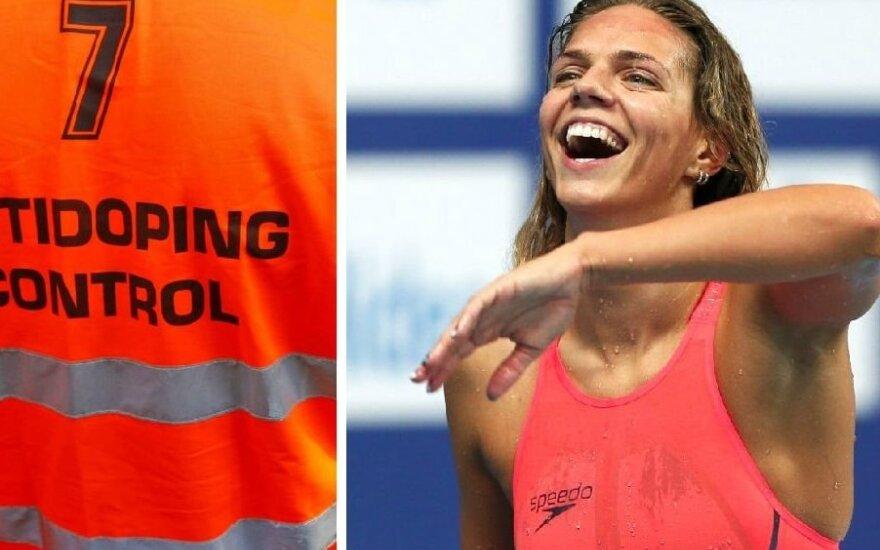 Ефимова: мы - чисты, плавание - самый чистый вид спорта