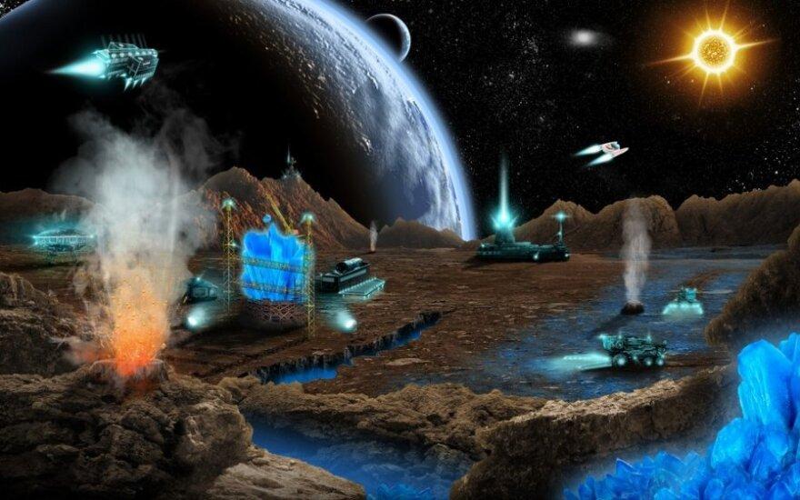 Mars: Etapy kosmicznej globalizacji