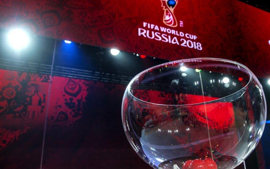 FIFA 2018 burtų traukimo ceremonija