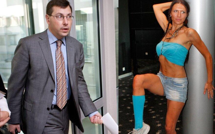Gintaras Steponavičius ir Milda Bartašiūnaitė