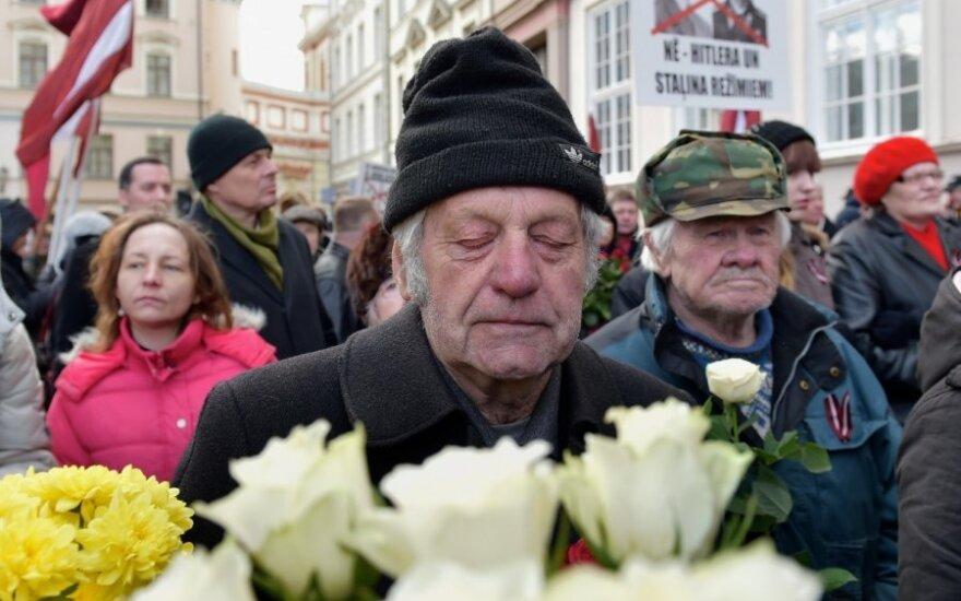 2000 человек участвовали в шествии легионеров в Риге