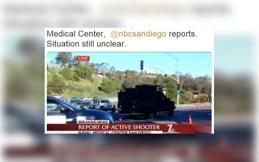 США: в военно-морском медицинском центре произошла стрельба