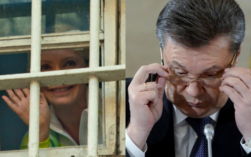 Экс-премьер Тимошенко предложила президенту Януковичу публичные дебаты