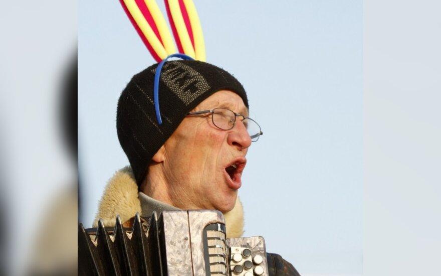 Новый год в белорусском Глубоком