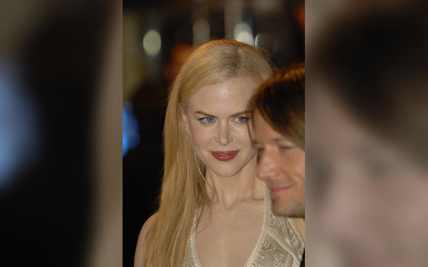 Nicole Kidman ir Kiethas Urbanas filmo premjeroje