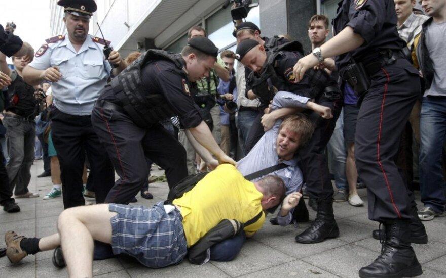 ЕС: закон о гей-пропаганде мешает отмене виз для россиян