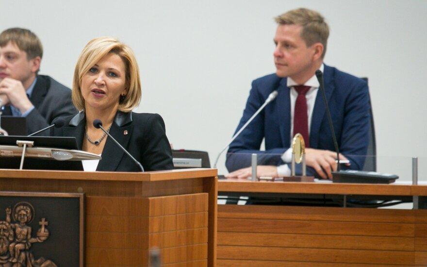 Edita Tamošiūnaitė, Remigijus Šimašius