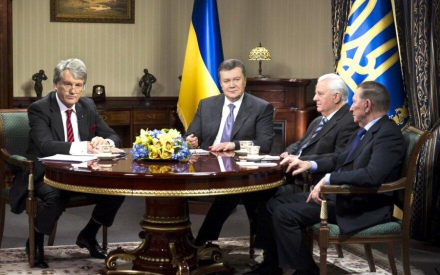 Viktoras Janukovyčius, Leonidas Kravčiukas, Leonidas Kučma, Viktoras Juščenka
