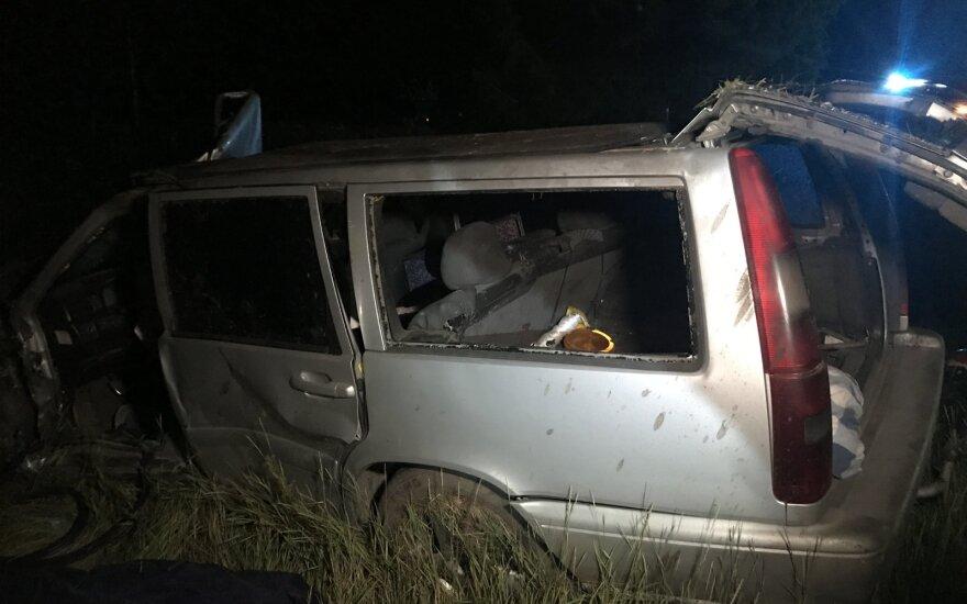 В Вильнюсском районе в аварии погиб мужчина