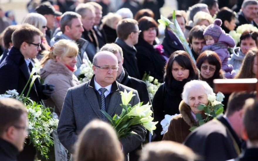 В Каунасе похоронили Матийошайтене