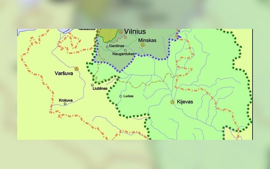 В Великом княжестве Литовском: XIV–XVIII века