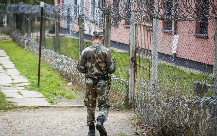 Užsieniečių registracijos centro sulaikymo zona