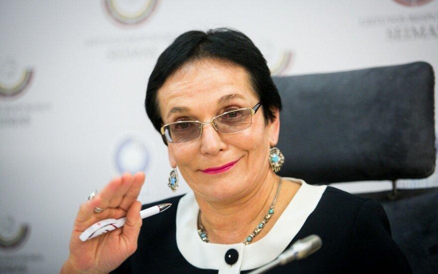 В Вильнюсе депутат Павилёнене стала виновницей ДТП