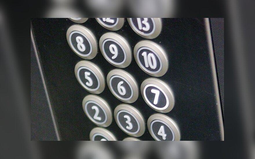 В Вильнюсе в многоэтажном доме упал лифт с людьми