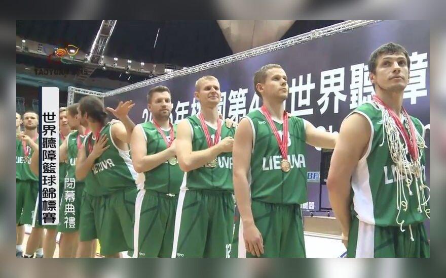 """Radziecką Litwę stworzył lud """"usłyszeli"""" zwycięscy Koszykarskich Mistrzostw Świata Niesłyszących"""