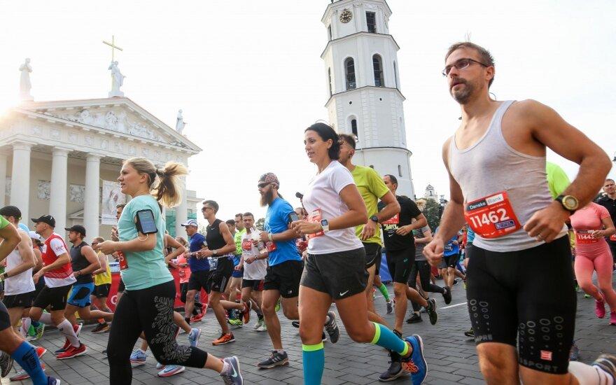 В столице Литвы проходит Вильнюсский марафон