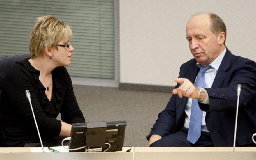 Ingrida Šimonytė, Andrius Kubilius