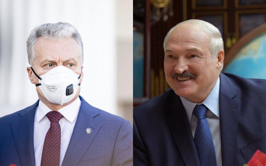 Науседа предложил Лукашенко помощь медсредствами, выразил озабоченность по БелАЭС