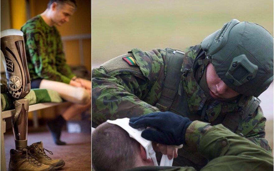 Лишившийся ноги военный выступает за изменение существующих порядков
